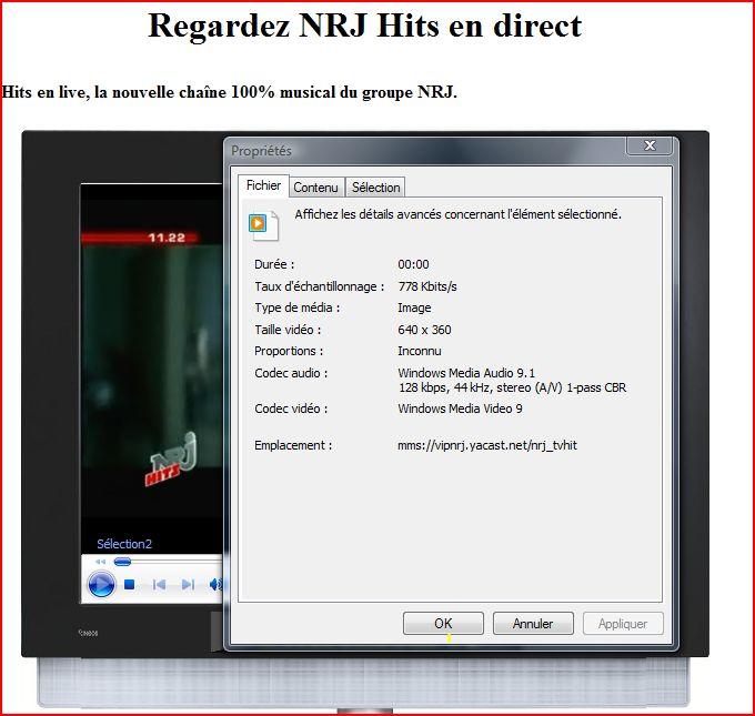 La tv gratuite sur votre HD, choisissez vos chaines Captur11
