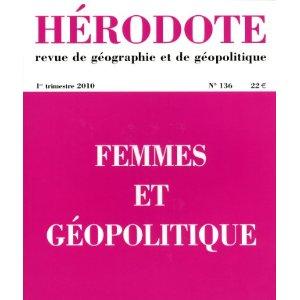 Hérodote n°136 : Femmes et Géopolitique 41cfy610