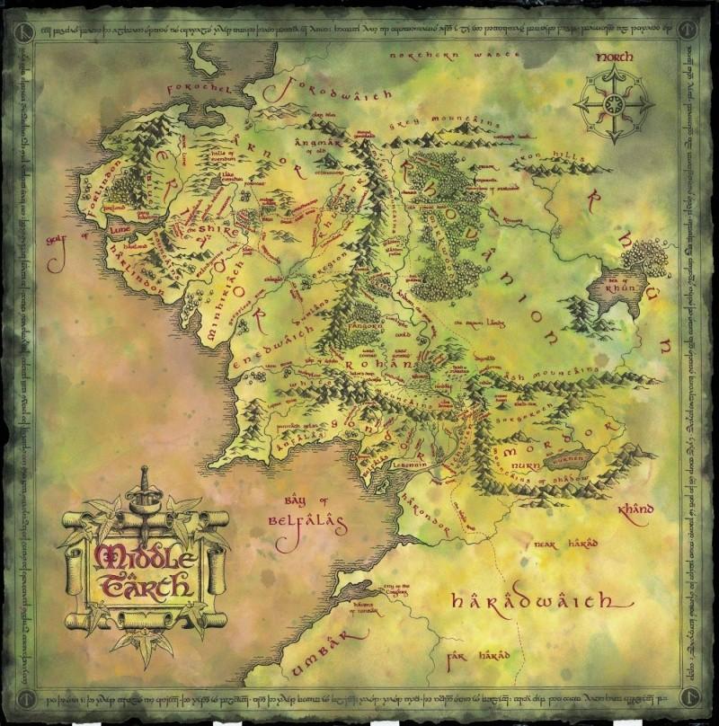 Tolkien en géographie : Villes et territoires urbains dans Le Seigneur des Anneaux Middle10