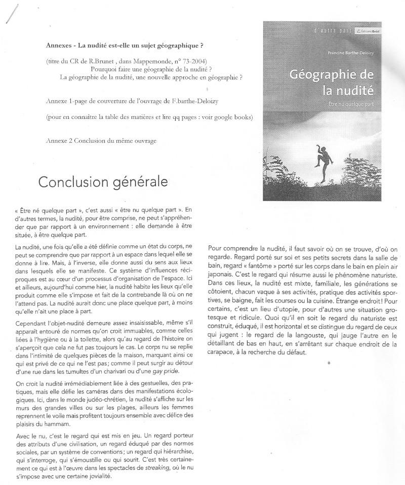 Débat du mois de juin 2010 : La nudité est-elle un sujet/objet géographique ? Nu410