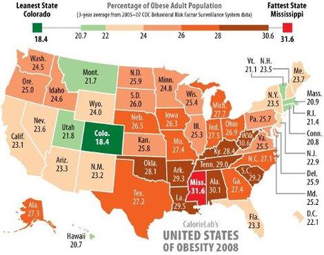 L'obésité, les Etats-Unis et la France : les fastfood Obesit10