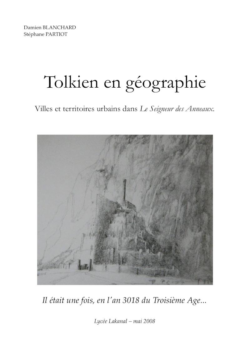 Tolkien en géographie : Villes et territoires urbains dans Le Seigneur des Anneaux Tolkie10