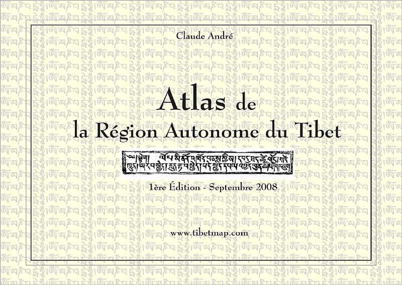 Atlas du Tibet. Atlas de la Région Autonome du Tibet Z237810