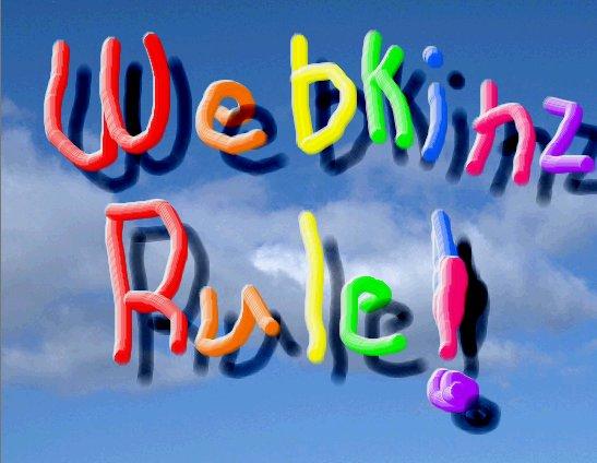 Webkinz Rule!
