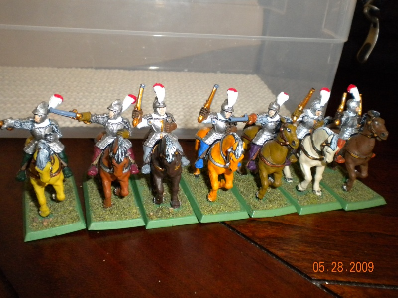 Warhammer Fantasy Pistoliers and  Knights and More. Tom_fo14