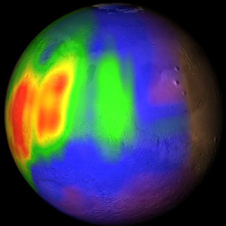 Observation du méthane martien Mars_p10