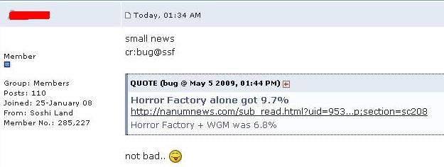UPDATED: Oh the Horror! - The Power of 3.3 (and the Delusional fandom that is Sone) Haha210