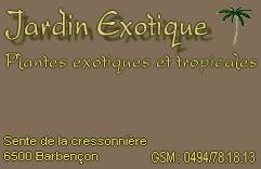Nouvelle Pépinière Jardin Exotique de Frédéric Carte_12