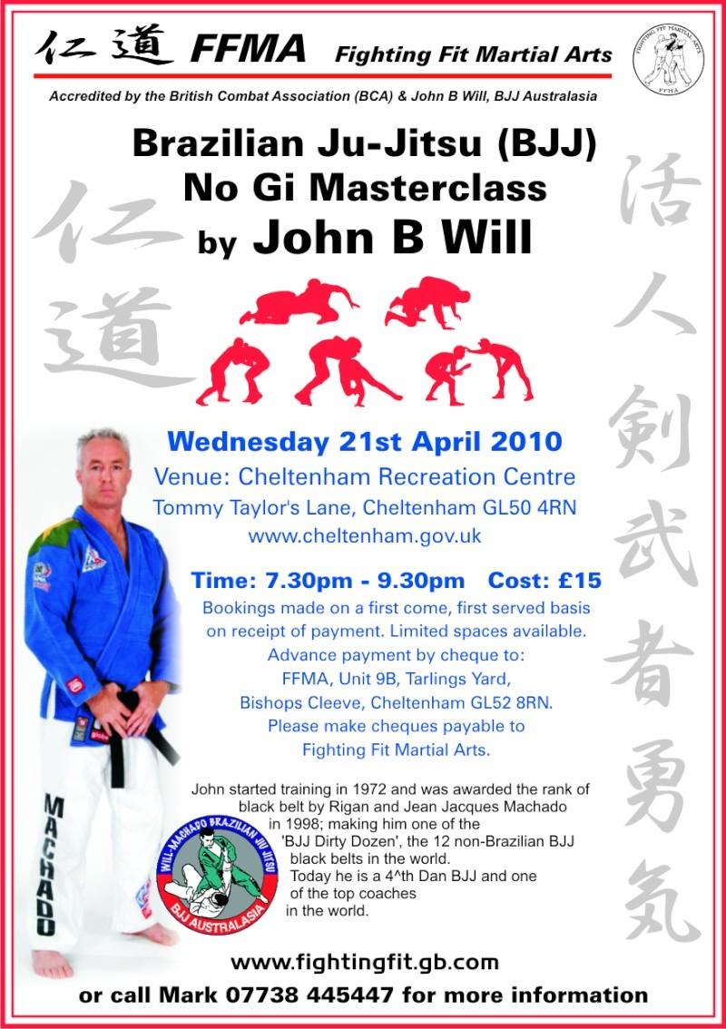 John B Will - Seminar - 21st April 2010 Fighti11