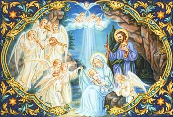 DÉVOTION  AU SACRÉ CŒUR  DE JÉSUS,  PROPOSÉE AUX ENFANTS Nativi15