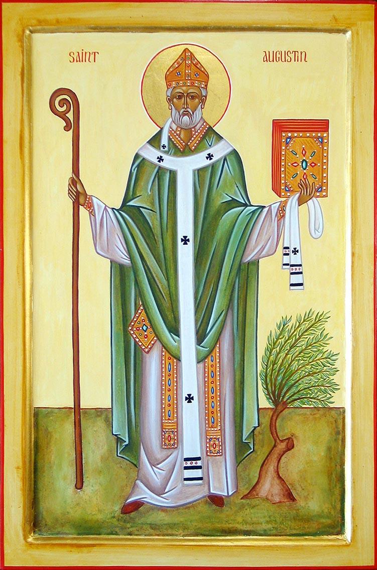Saint Augustin, 28 août Staugu10