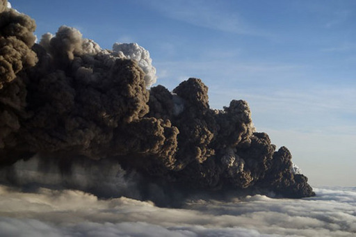 Вулканическая мина замедленного действия Eyjafj10