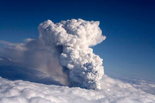 Вулканическая мина замедленного действия Eyjafj11