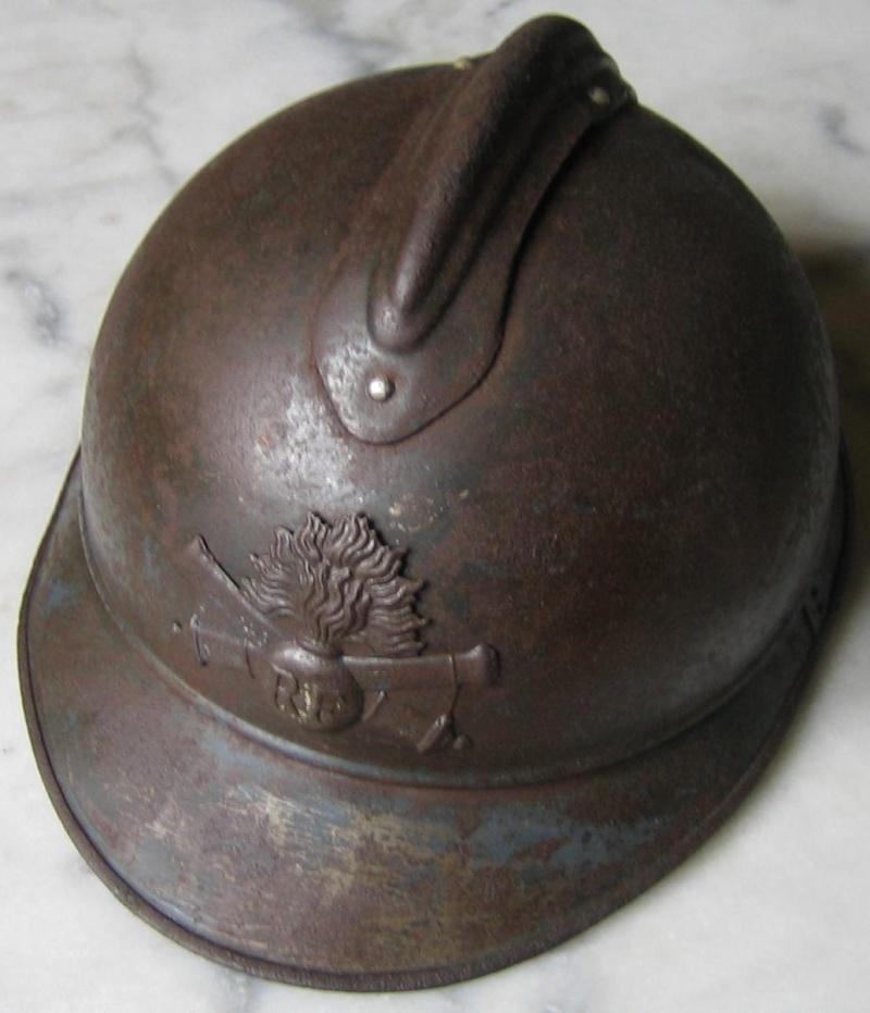 Casque adrian WWI Artillerie Vecv_210