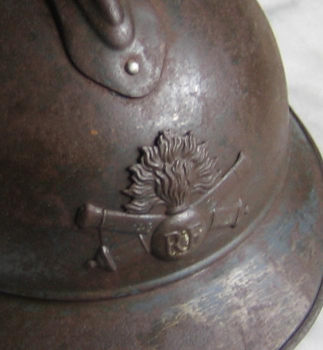 Casque adrian WWI Artillerie Vecv_212