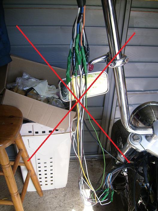 800 VN - Help pour ape hanger 41 cm 2611