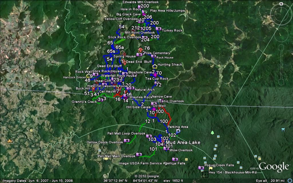 Map of Pickett Picket10