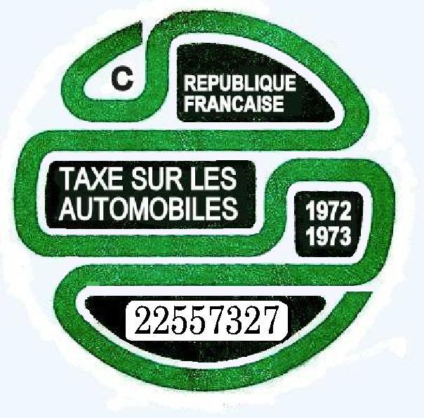 Vignettes auto de l'époque 1973313