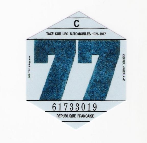 Vignettes auto de l'époque 7710