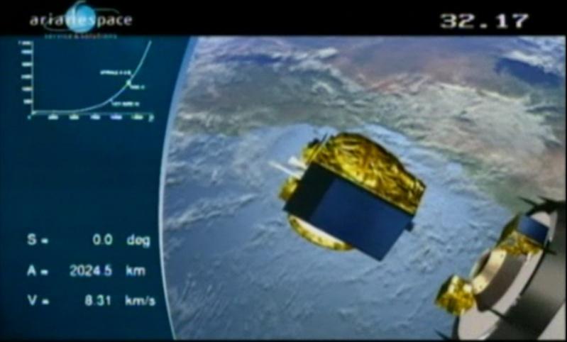 Ariane 5 ECA V187 (HotBird-10 + NSS-9) - 12.2.2009 - Page 3 12-02-11
