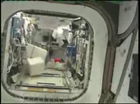 Vidéo : visite de la station spatiale 26-01-10