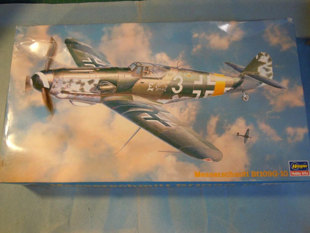 Me 109G-10 1/48 Hasegawa + Pe Eduard Dscn8554