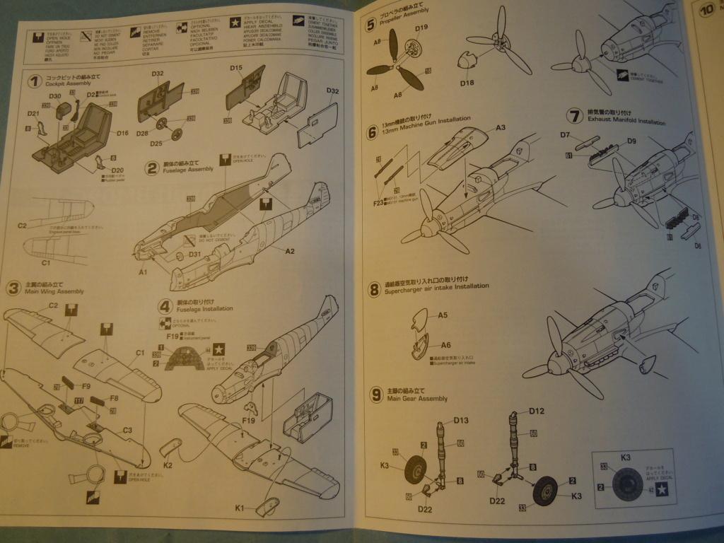 Me 109G-10 1/48 Hasegawa + Pe Eduard Dscn8556