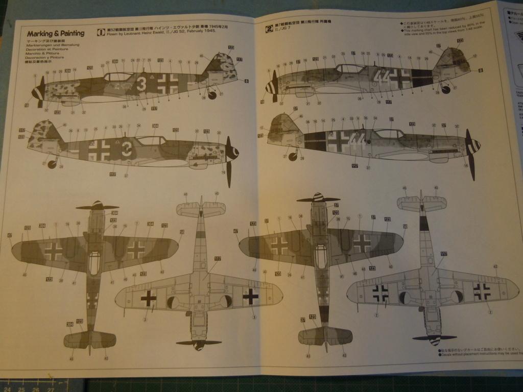 Me 109G-10 1/48 Hasegawa + Pe Eduard Dscn8557