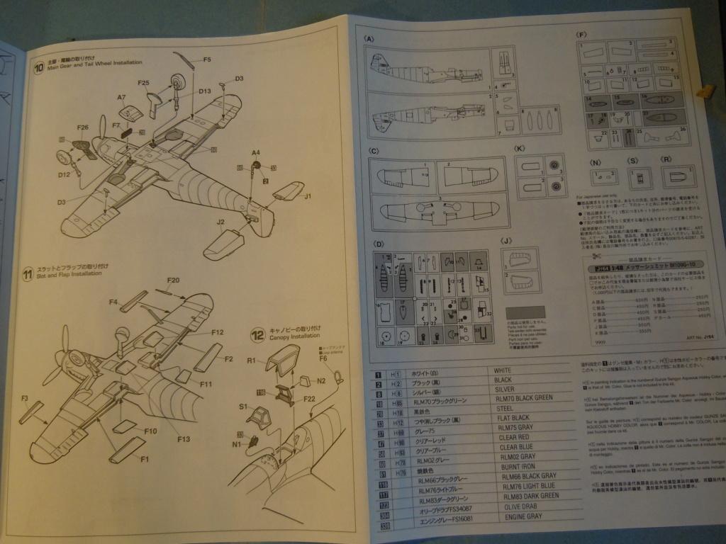 Me 109G-10 1/48 Hasegawa + Pe Eduard Dscn8558