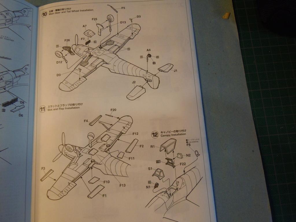 Me 109G-10 1/48 Hasegawa + Pe Eduard Dscn8559
