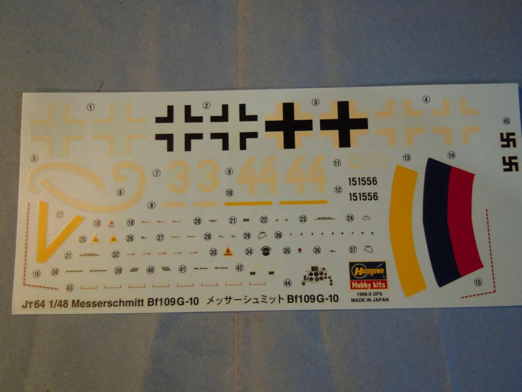 Me 109G-10 1/48 Hasegawa + Pe Eduard Dscn8560