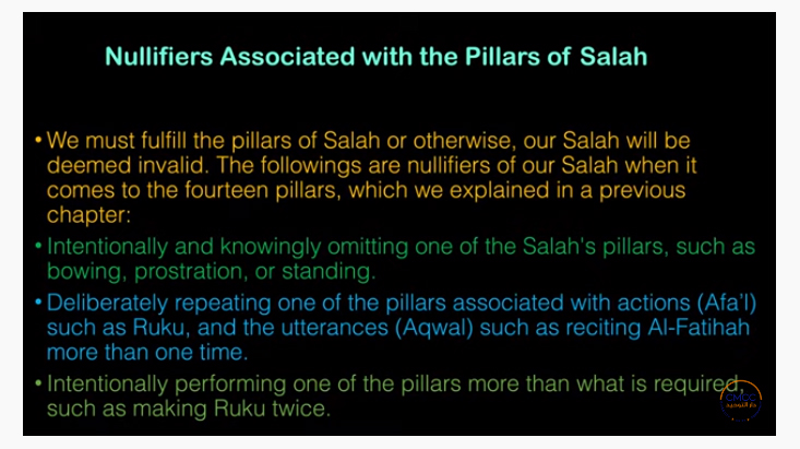 Pray the Prophet`s (Sallallahu Alayhi wa Sallam) Way 18-310