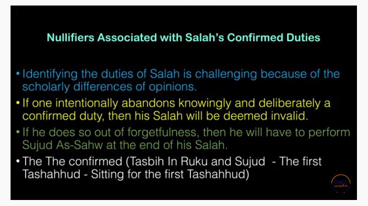 Pray the Prophet`s (Sallallahu Alayhi wa Sallam) Way 18-410