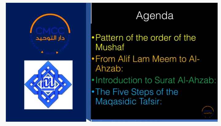 The Maqasidic Tafsir - Pursuing the Higher Aims of the Qur'anic Scriptures - Page 2 33-210