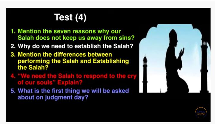 Pray the Prophet`s (Sallallahu Alayhi wa Sallam) Way 4-211