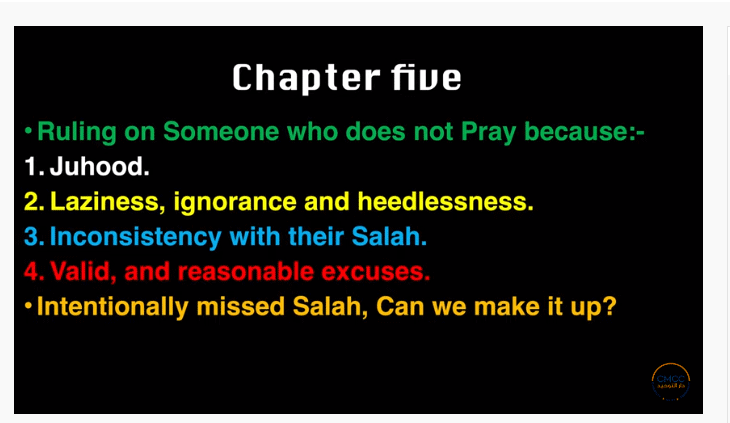 Pray the Prophet`s (Sallallahu Alayhi wa Sallam) Way 6-111