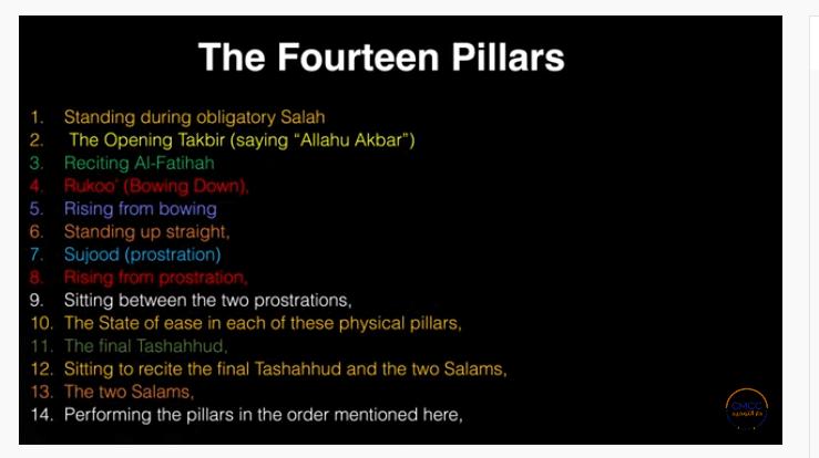 Pray the Prophet`s (Sallallahu Alayhi wa Sallam) Way 7-113