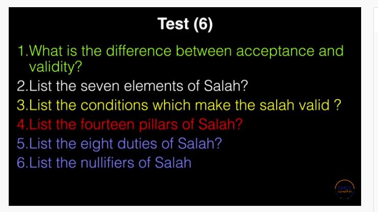 Pray the Prophet`s (Sallallahu Alayhi wa Sallam) Way 7-210