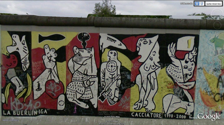 STREET VIEW: East Side Gallery, Berlin, Allemagne 1310