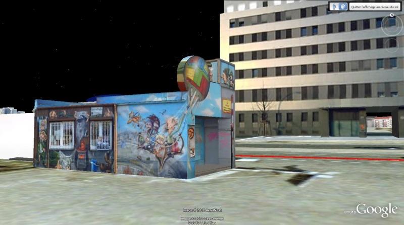 STREET VIEW: East Side Gallery, Berlin, Allemagne 132