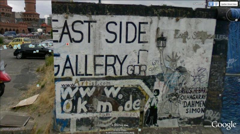 STREET VIEW: East Side Gallery, Berlin, Allemagne 213