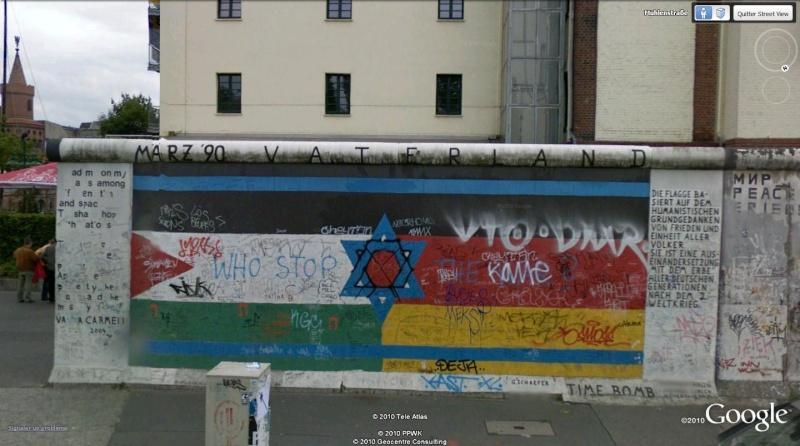 STREET VIEW: East Side Gallery, Berlin, Allemagne 511