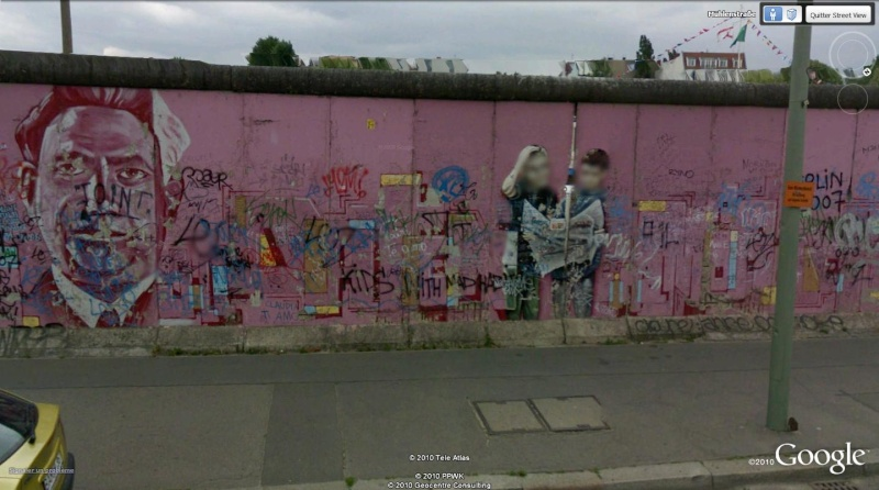 STREET VIEW: East Side Gallery, Berlin, Allemagne 611