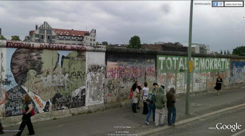 STREET VIEW: East Side Gallery, Berlin, Allemagne 911