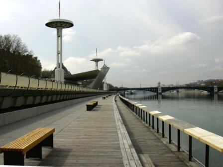 Lyon, visite au travers des grands travaux de ces dix dernières années. A1010
