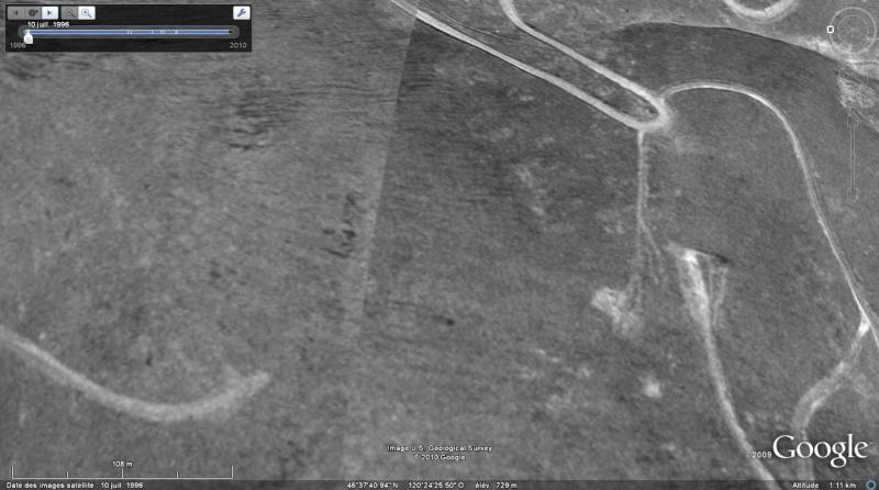 2098! marqué au sol, Etat Washingtion, USA Chiffr10