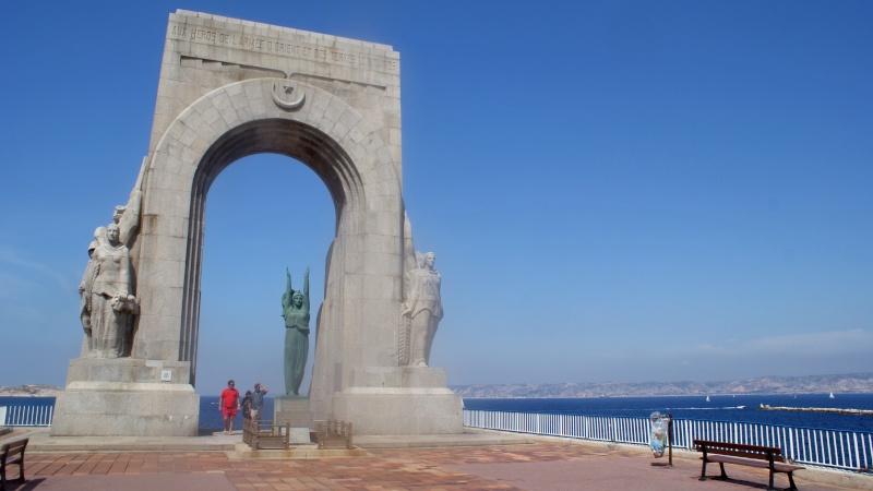 Memorial du front d'Orient, Marseille, France Dsc01611