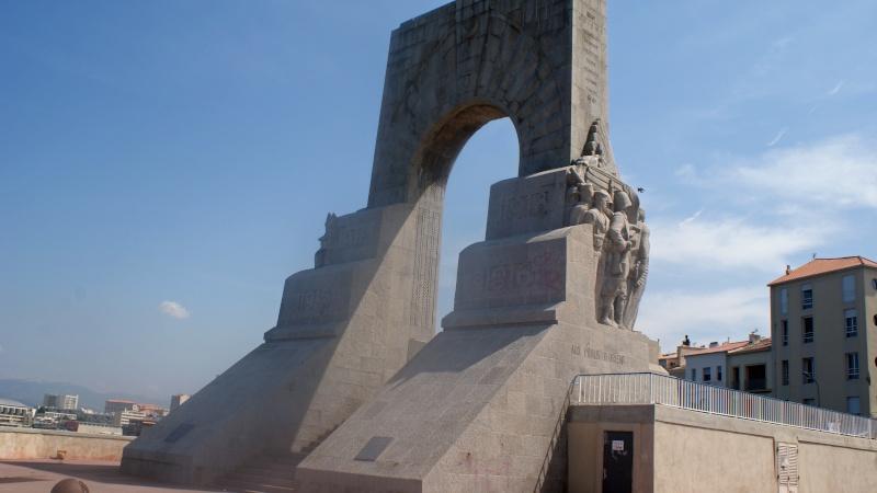 Memorial du front d'Orient, Marseille, France Dsc01612