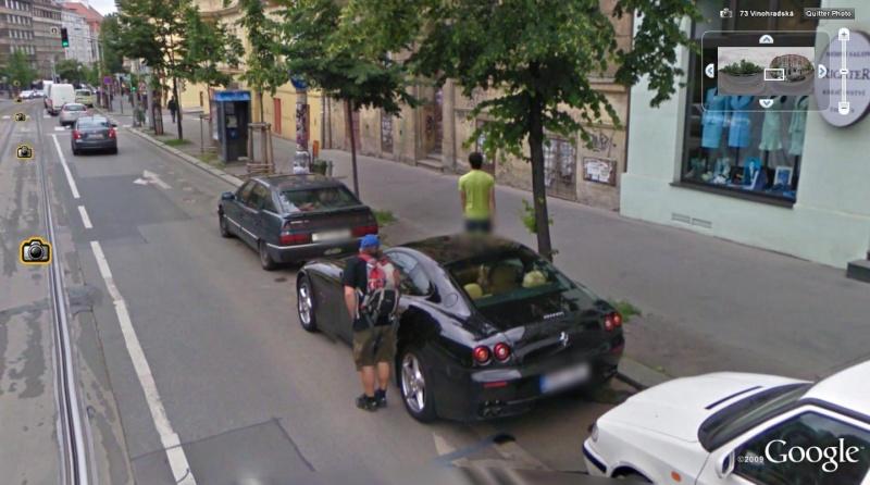 STREET VIEW : belles voitures (Monde) - Page 6 Ferrar17