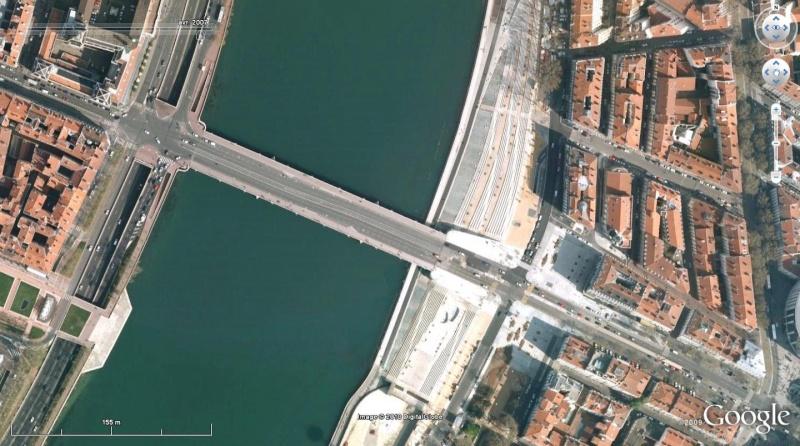 Lyon, visite au travers des grands travaux de ces dix dernières années. G311